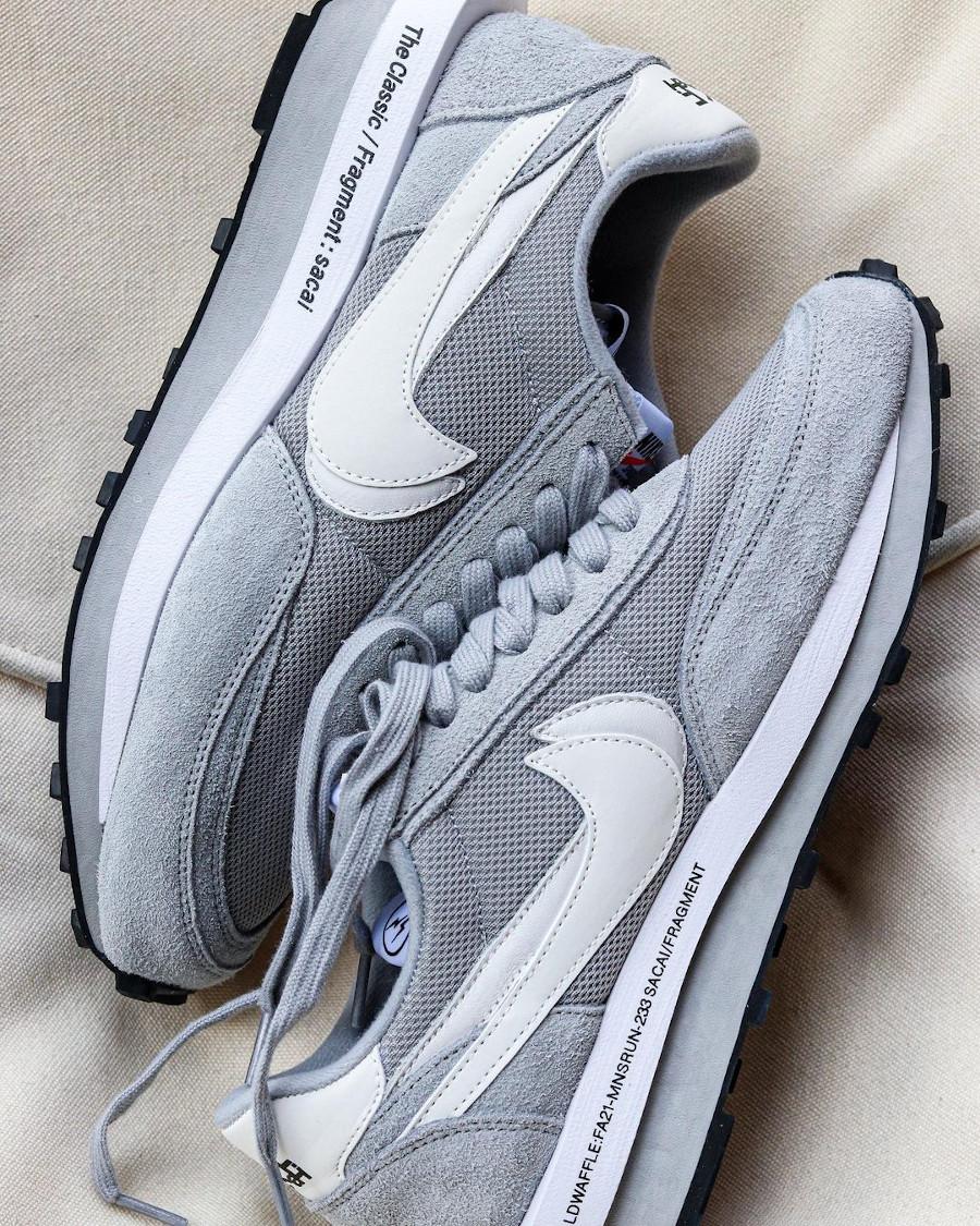Chitose Abe x Hiroshi Fujiwara x Nike LDWaffle grise (4)