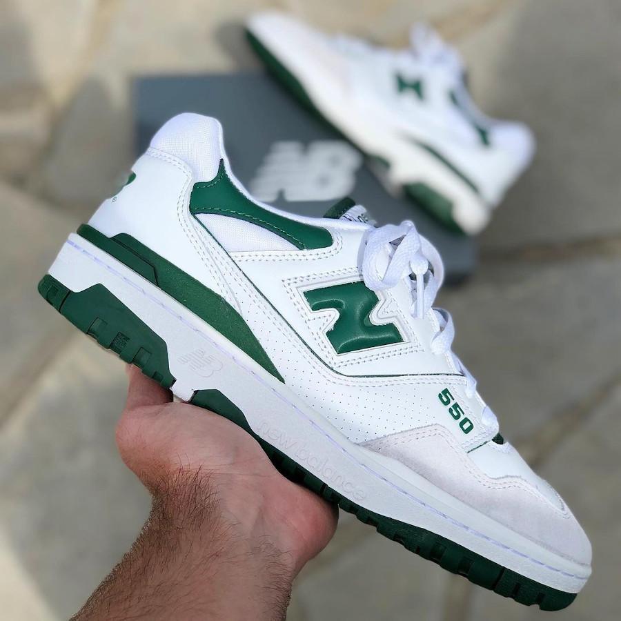 Que vaut la NB 550 BB550WT1 White Green Boston Celtics ?