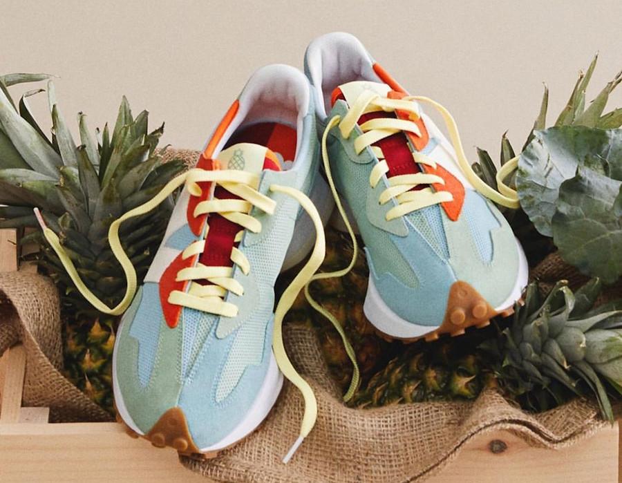 New Balance MS327TSB Pineapple