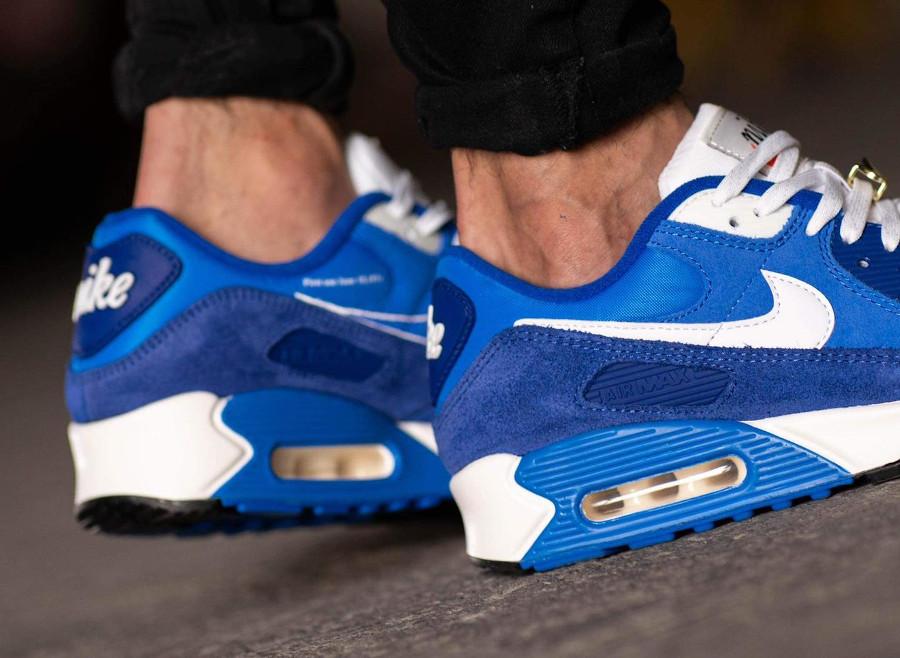 Nike AM90 PRM FU bleue (3)
