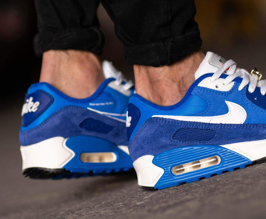 Nike AM90 PRM FU bleue (5)