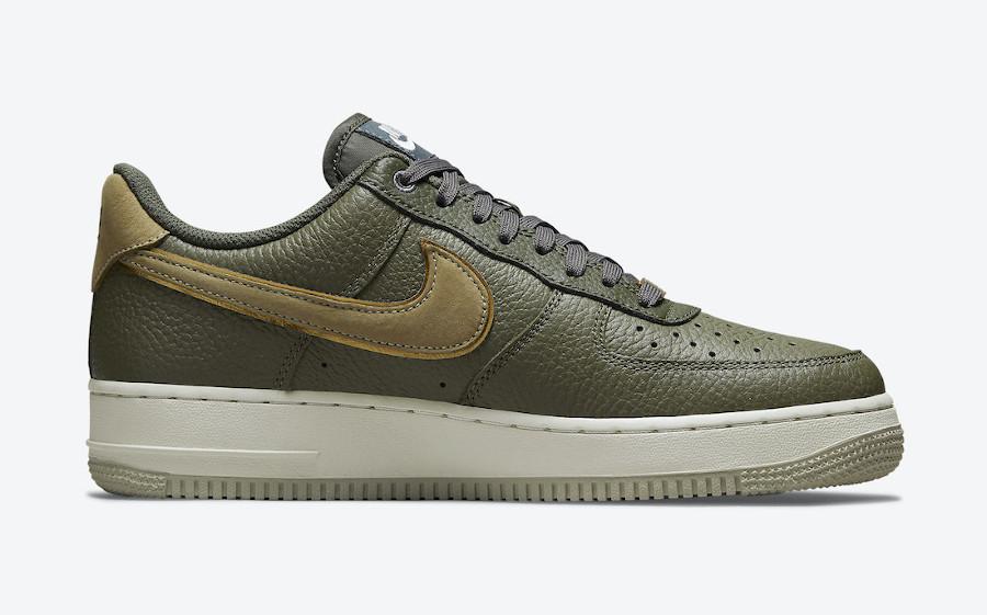 Nike Air Force 1 Lux tortue verte (2)
