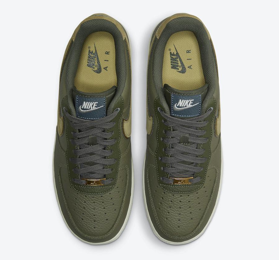 Nike Air Force 1 Lux tortue verte (3)