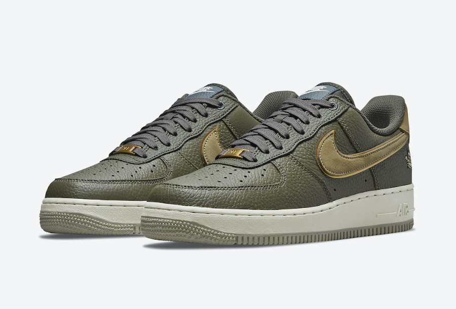 Nike Air Force 1 Lux tortue verte (4)