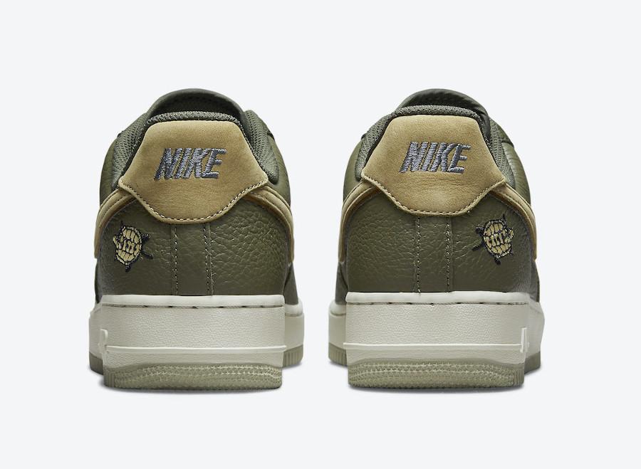 Nike Air Force 1 Lux tortue verte (5)