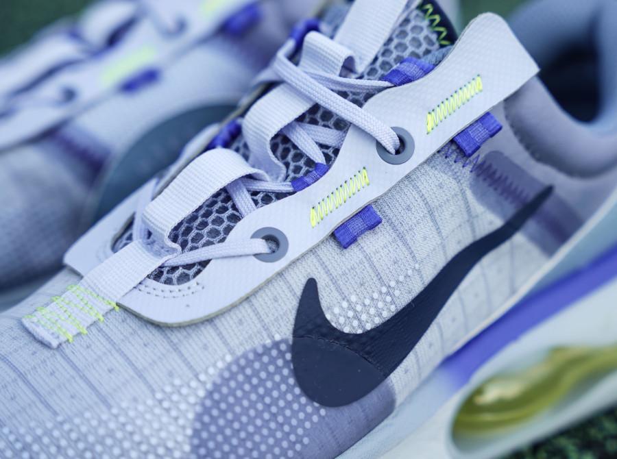 Nike Air Max 2021 violet lavande vert fluo