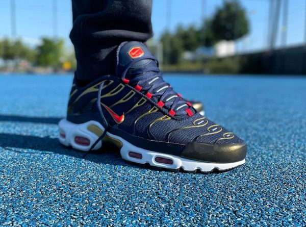 Nike Air Max Plus TN1 OG Olympic 2021 Obsidian Comet Red DH4682-400