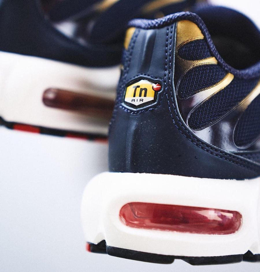Nike Air Max Tuned 1 bleu marine rouget et doré (1)