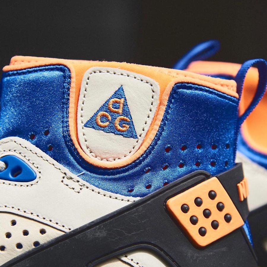 Nike Air Mowabb beige bleue et orange (4)