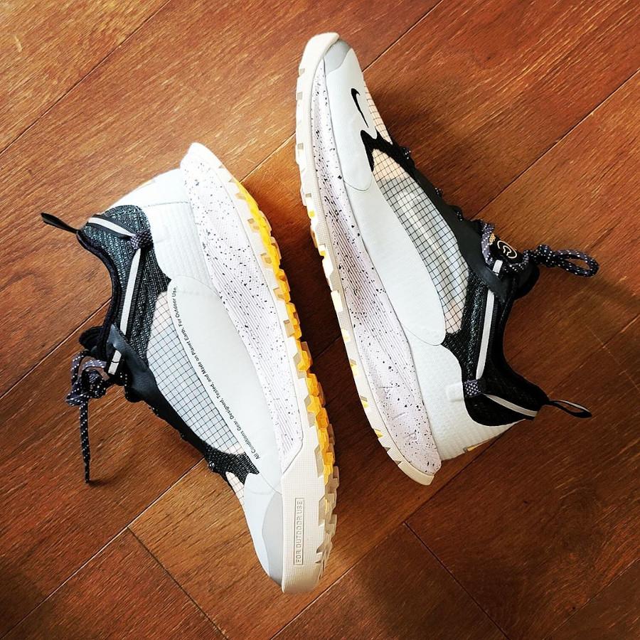Nike Air Nasu II grise argent métallique (3)