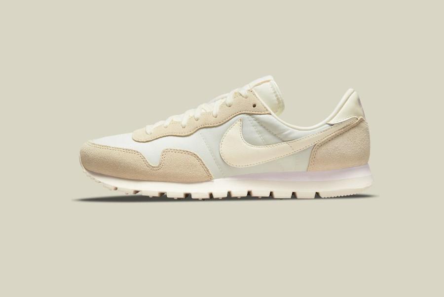 Nike Air Pegasus 83 2021 beige crème et blanc cassé (4)