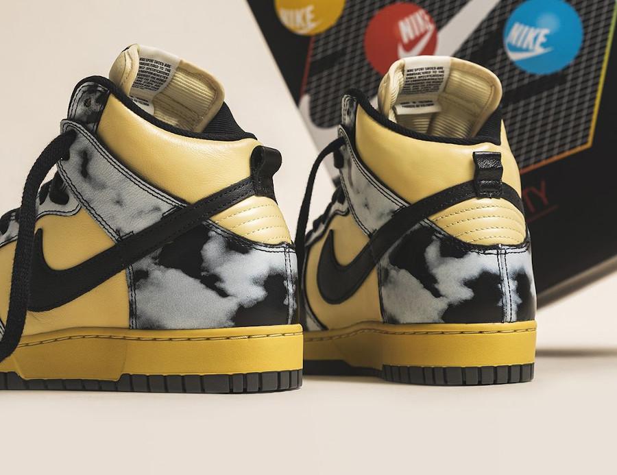 Nike Dunk Hi 85 vintage noire (1)