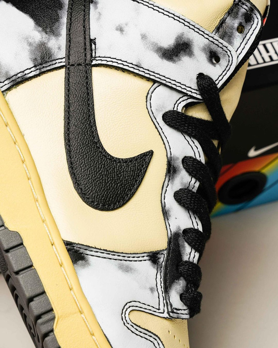 Nike Dunk Hi 85 vintage noire (3)