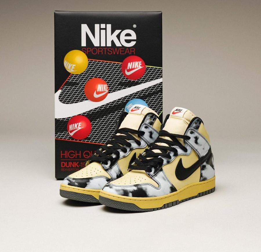 Nike Dunk High 1985 SP Black Acid Wash DD9404 700 (2)