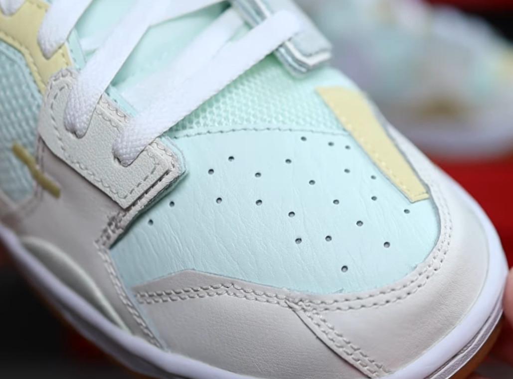 Nike Dunk Scrap grise et vert pastel (2)