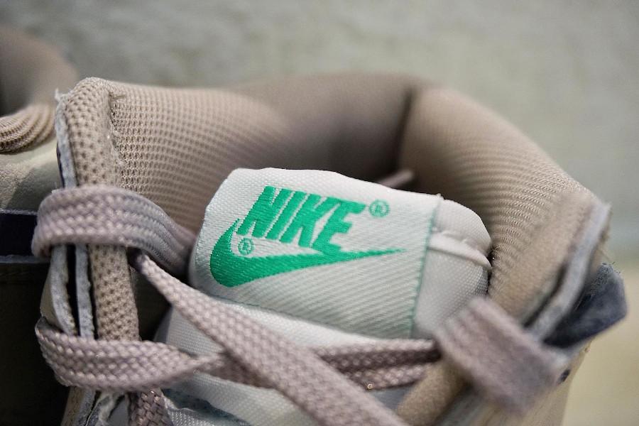 Nike Dunk Up compensée grise violet et vert turquoise (5)