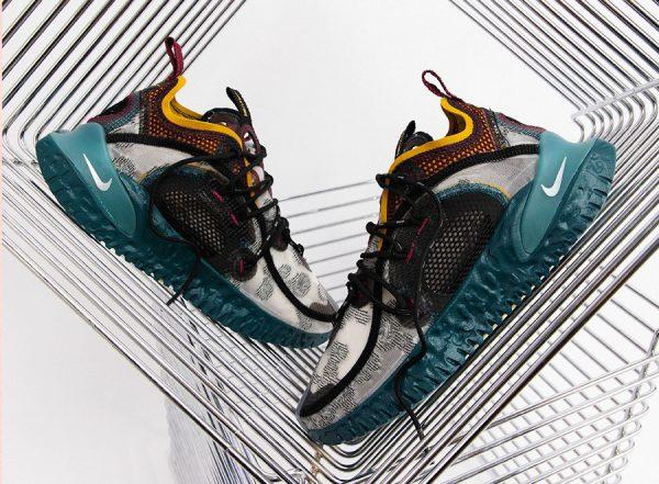 Nike ISPA Flow 2020 SE Black Teal Turquoise Reflect Silver