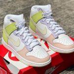 Nike Wmns Dunk High 'Cashmere' Lemon Twist