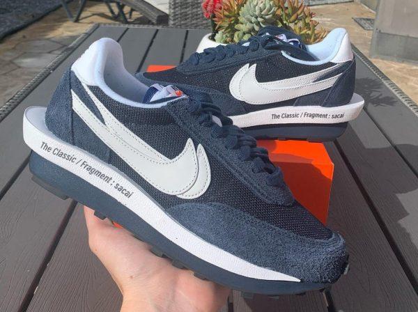 Nike x Sacai x Fragment x LDWaffle Blackened Blue Void