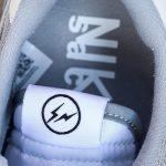 Sacai x Fragment Design x Nike LDWaffle Light Smoke Grey