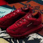 Cardi B x Reebok Classic Leather Triathalon Red