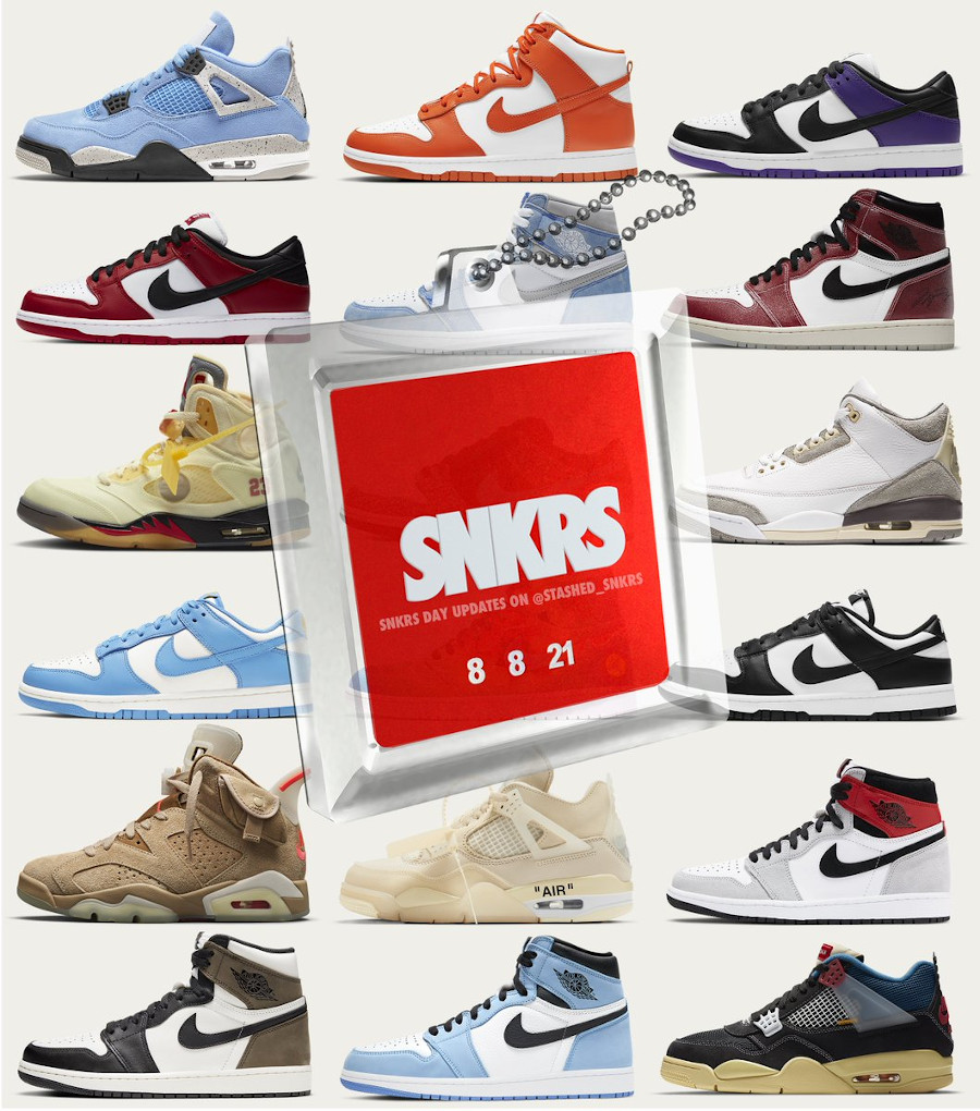 Restock Nike snkrs day 2021