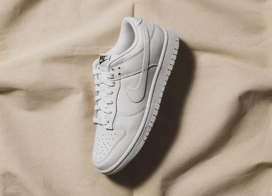Women's Nike Dunk Low White (2)