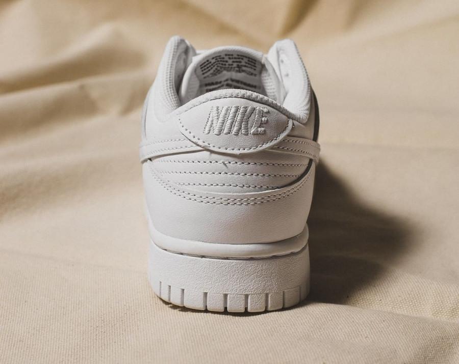 Women's Nike Dunk Low White (3)