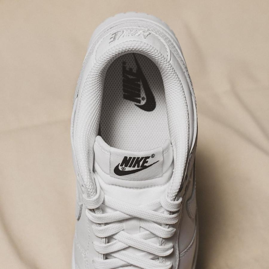 Women's Nike Dunk Low White (5)