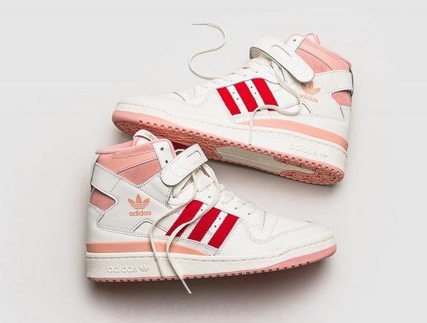 Adidas Forum 84 Hi White Pink Glow (rose pastel)