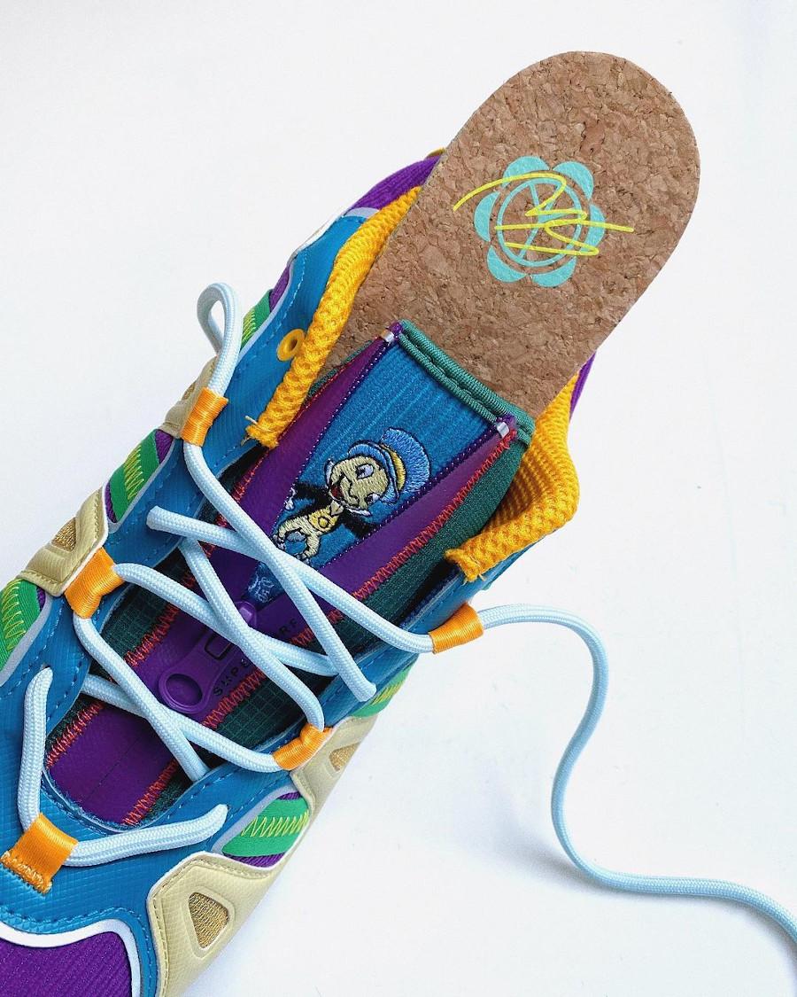Adidas Super Turf en velours multicolore (1)