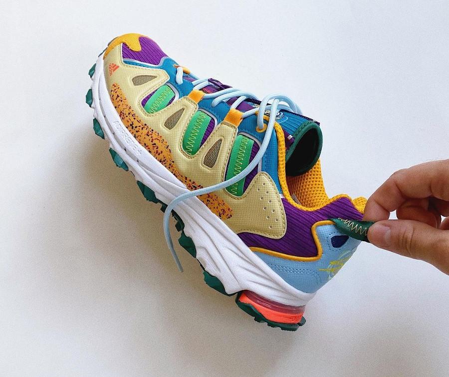 Adidas Super Turf en velours multicolore (3)