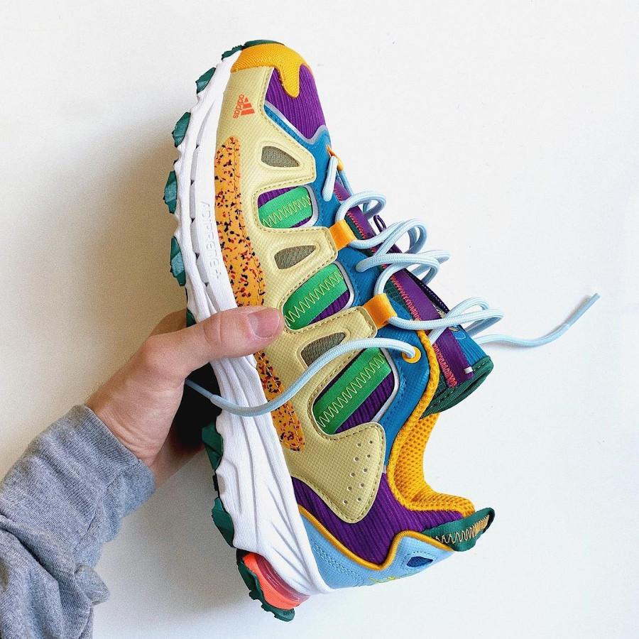 Adidas Super Turf en velours multicolore (5)