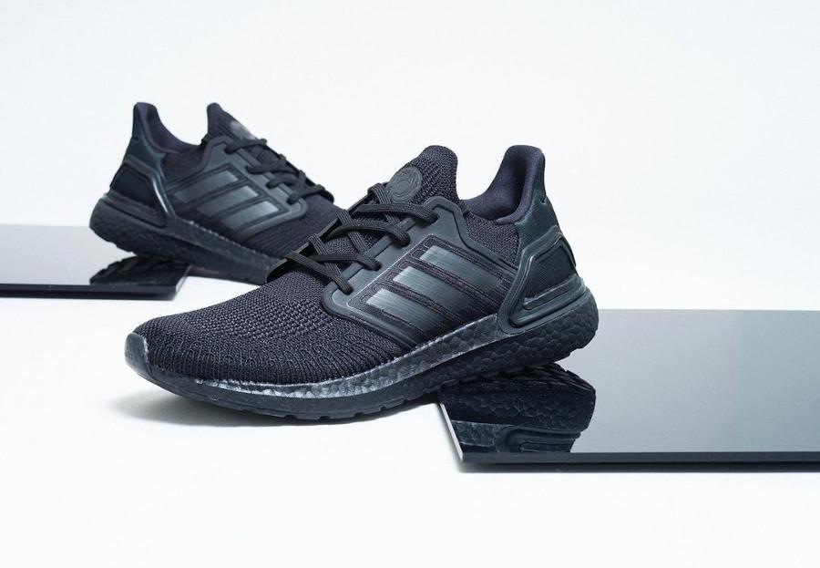 Adidas Ultra Boost 20 Black Tuxedo FY0645 (2)