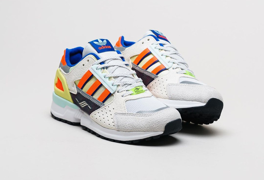 Adidas ZX 10 000 Grey One Solar Red Cloud White (1)