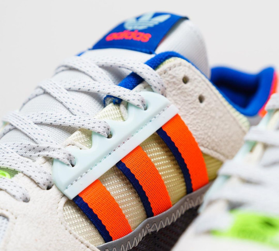 Adidas ZX 10 000 Grey One Solar Red Cloud White (3)
