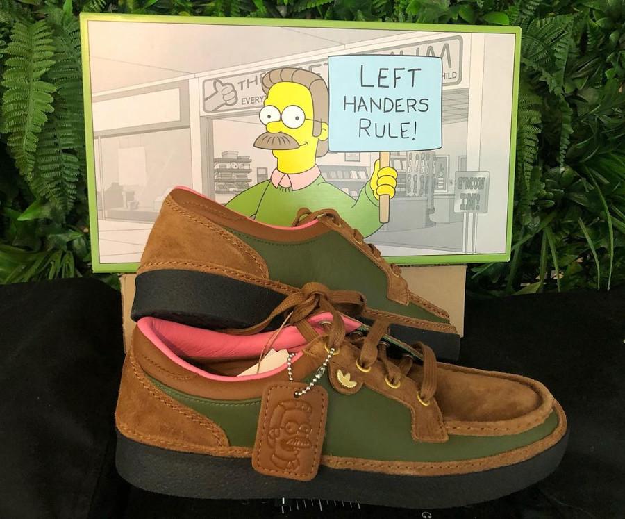 Adidas x The Simpsons McCarten Left Handers Rule