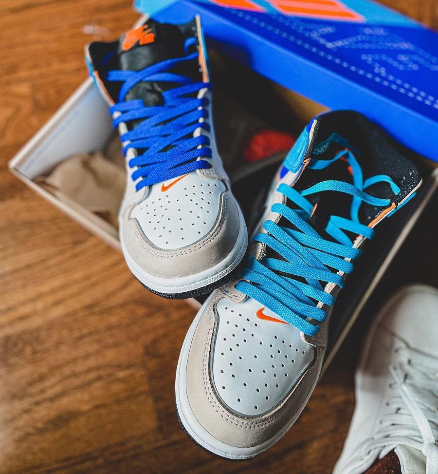 Air Jordan One montante multicolore