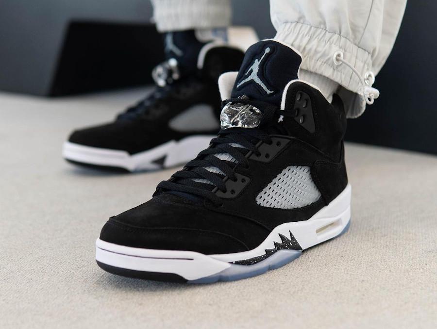 Air Jordan V Cookies and Cream (homme) (2)
