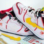 Gundam x Nike Dunk High Pro SB RX-0 Unicorn