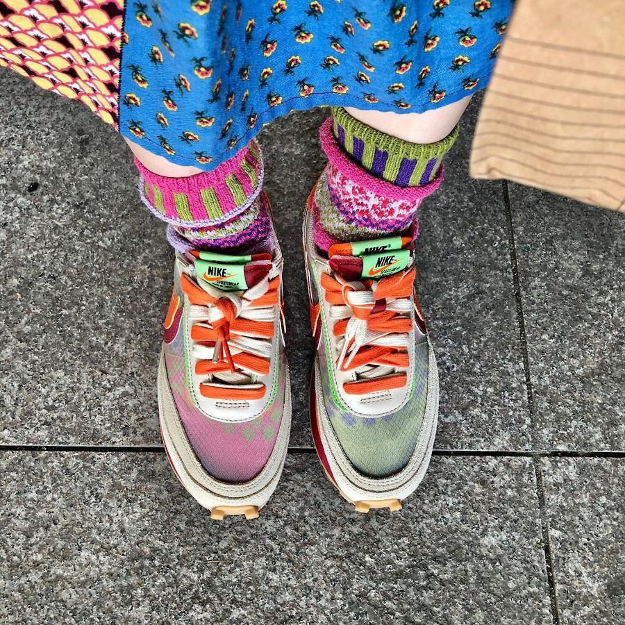 Chitose Abe x Edison Chen x Nike LD Waffle @sarahsori_style