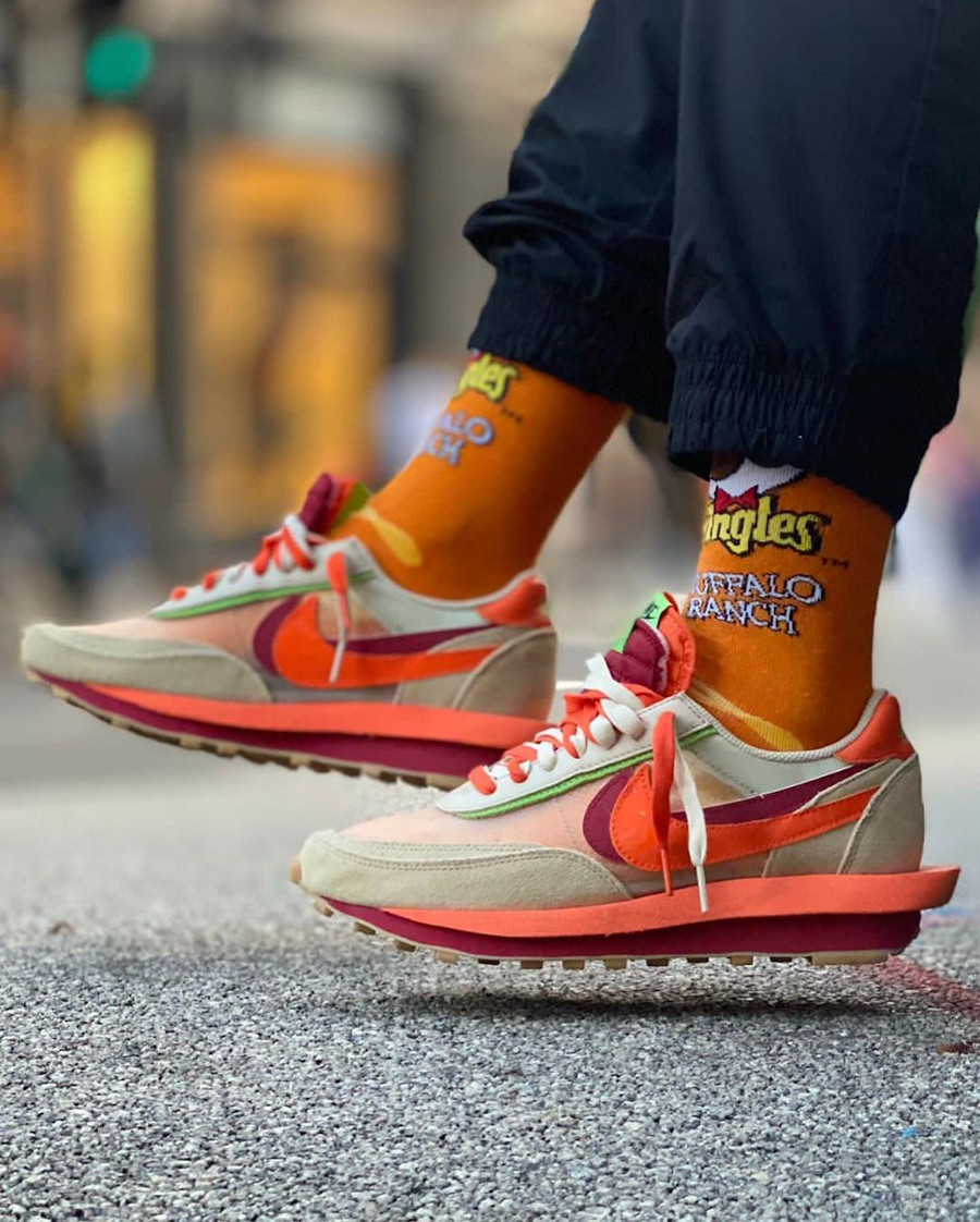 Chitose Abe x Edison Chen x Nike LD Waffle @sneakersntrimsuk