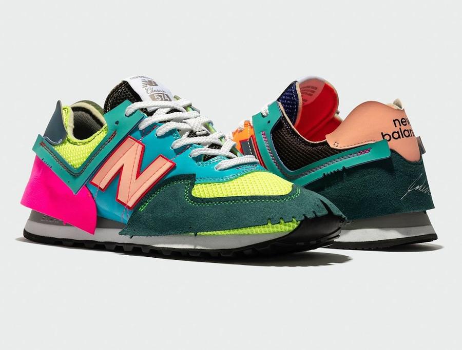 NB x Jaden Smith 574 ML574JSA Surplus Multicolor Rainbow