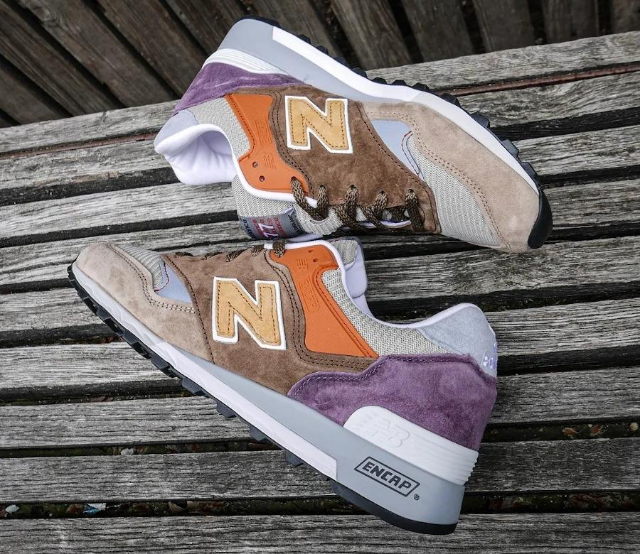 New-Balance-574-marron-beige-orange-et-violet-2
