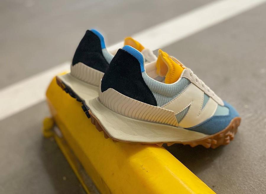New Balance XC 72 bleu jaune et marron (2)