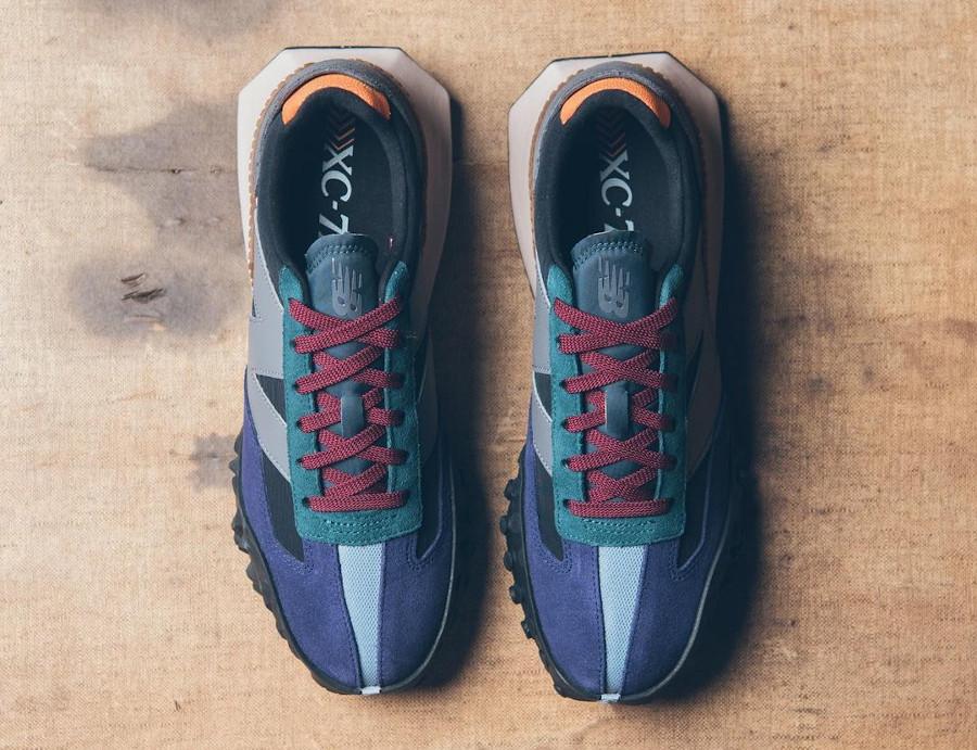 New Balance XC-72 violet bordeaux grise bleu sarcelle (1)