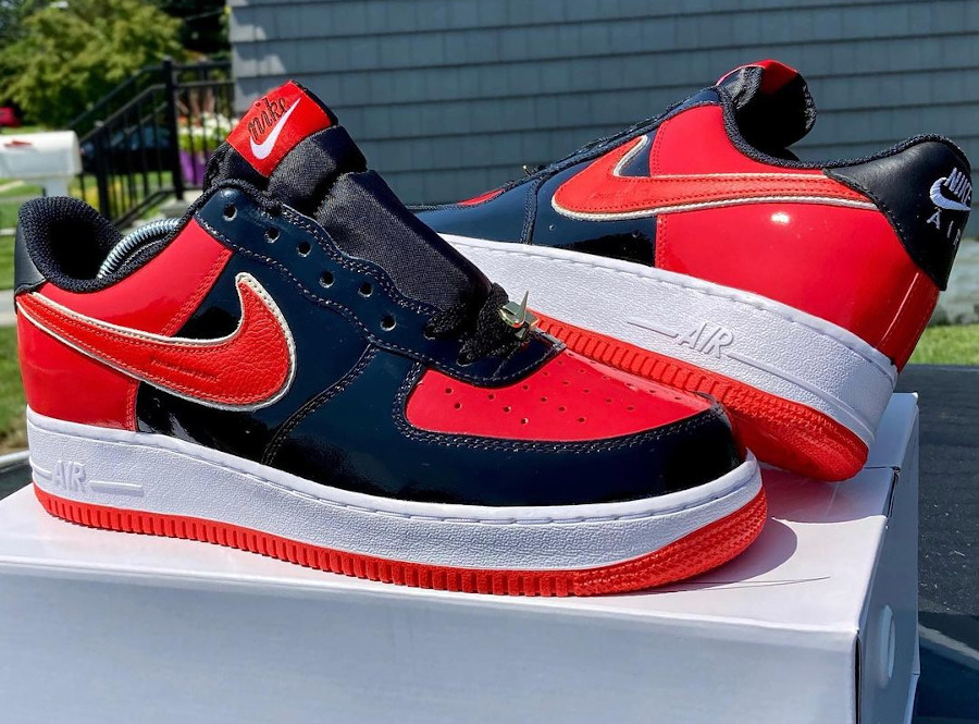 Nike Air Force 1 ID Bred bee.knowbles