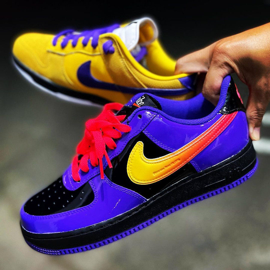 Nike Air Force 1 ID Lakers attack.on.ranchu