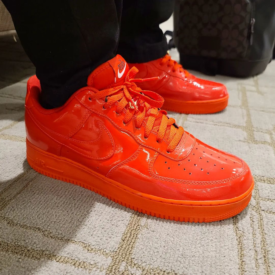 Nike Air Force 1 ID Red October @sneakersnapshots