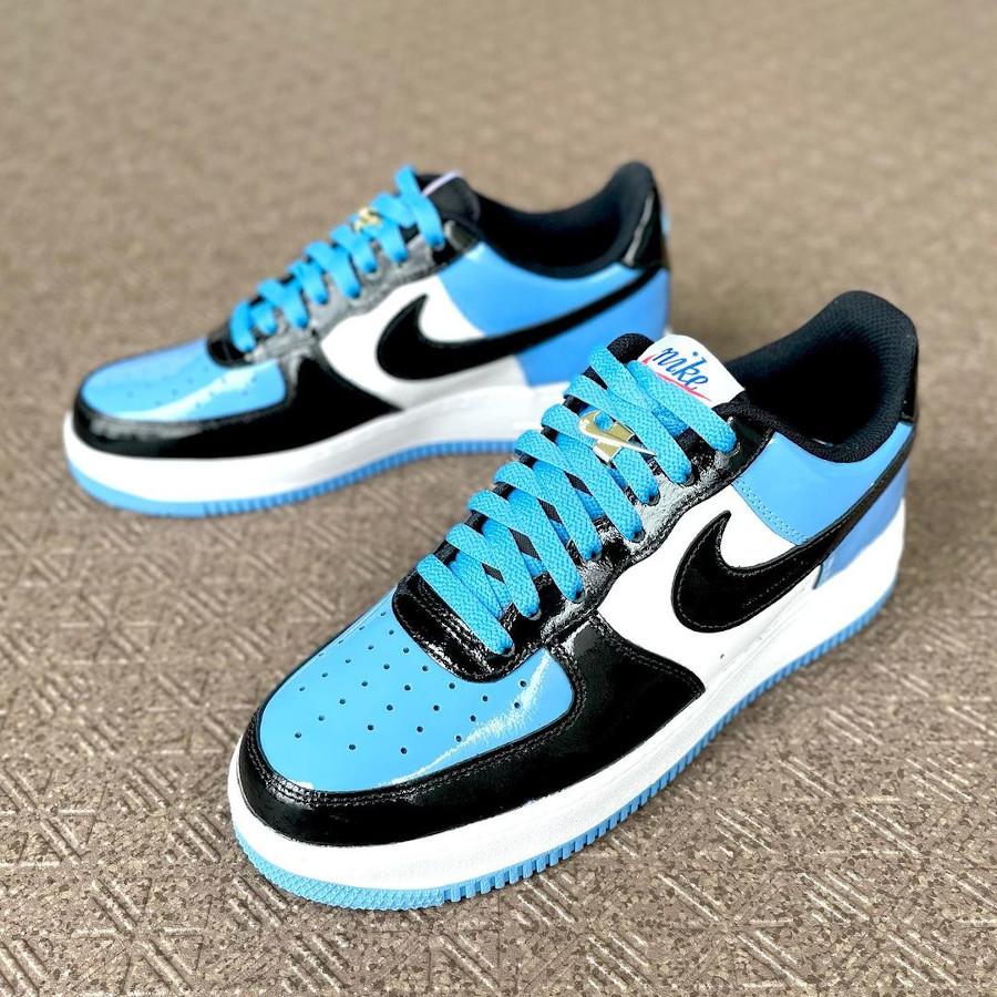 Nike Air Force 1 ID UNC beshi___kicks